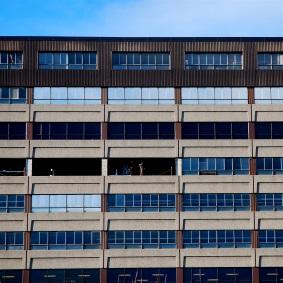 Façade d'immeuble, rue Saint-Denis.