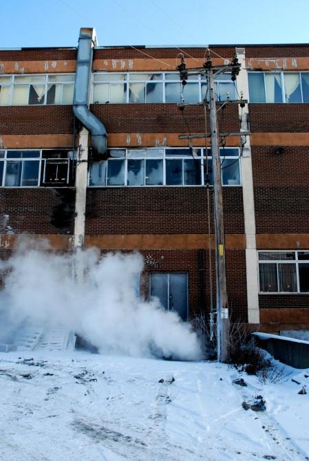Les immeubles qui fument, bis.