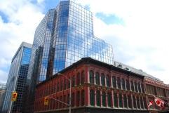 Immeubles dans le centre-ville d'Ottawa.