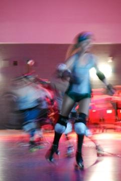 Roller derby, Taz, Montréal (Rémi Leroux)