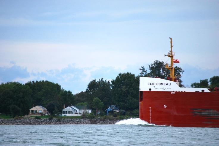 bateau sur le Saint-Laurent