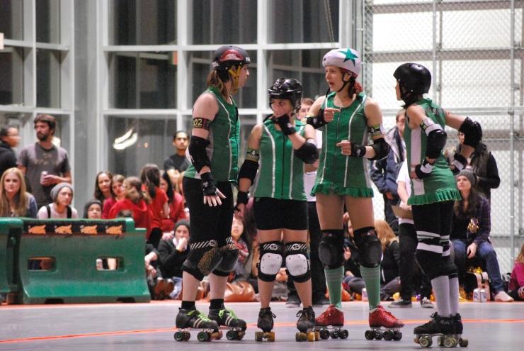 L'équipe de La Racaille - roller derby